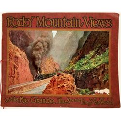 Rocky Mountain Views -- Rio Grande Railroad Photo Album   #109450