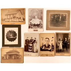 Evansville, Minnesota Group of Cabinet Cards  #110279