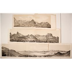 Salt Lake City Lithographs, Stansbury Expedition  #77361