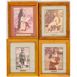 Paiute Framed Photos (4)  #98033