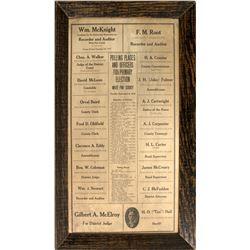 1910 White Pine, NV Political Ads  #48815