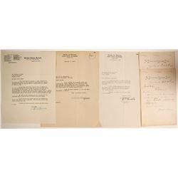 Nevada Autographs-McCarran, Boalzar and Klein  #89976