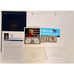 Political Memorabilia / 8 Items.  #109729