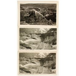 Alaska Hydraulic Mining Postcards (3)  #64276