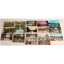 Arrowhead/Big Bear, CA Postcards  #103353