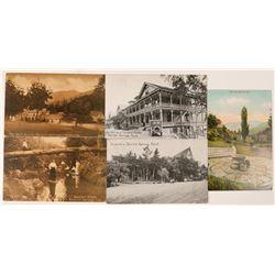 Bartlett Springs, CA Postcards (5)  #90722