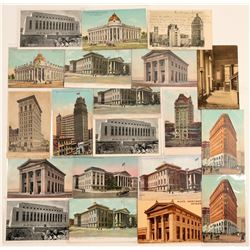 San Francisco Banks & Savings & Loan Chromolitho's  #102770