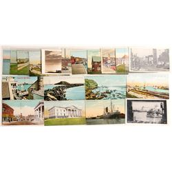 San Pedro, CA Postcards  #103251
