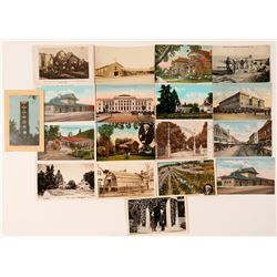 Santa Rosa, CA Postcards with 3 RPC's (17)  #101794