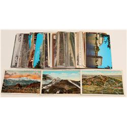 Colorado Springs/Pike's Peak Postcards  #105069