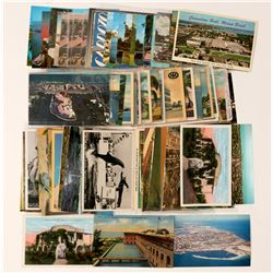 Miami, Keywest, & Marineland Florida Postcards  #91195