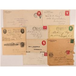 Miscellaneous Western Postal History  #107346