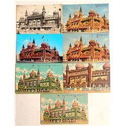 Mitchell Corn Palace, SD Postcards  #102684