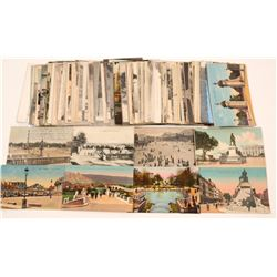 French Park and Monument Postcards  #105137