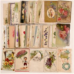 Flower Greeting Cards (Aprox 100)  #104991