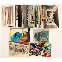Glass in Art Buildings and More Postcards  #104964