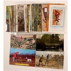 Hunting Postcards  #104978