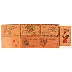 Leather Post Cards  #91225