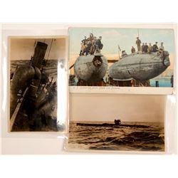 Military - Submarine Postcards  #105115