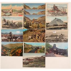 Mining - Outside Views Postcards  #105112