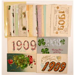 New Years Post Cards  #104988