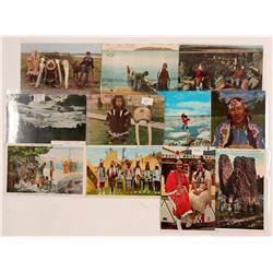 PNW Indian Postcards  #104623
