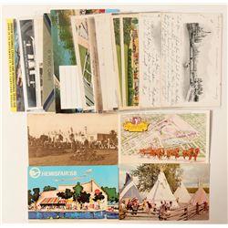 Worldwide Expo Postcards  #103337