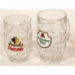 Beer Steins/ Germany / 2 items.  #89535
