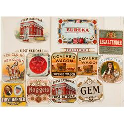 Colorful Cigar Box Labels (12)  #72062
