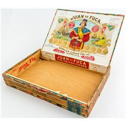 Juan de Fuca Cigar box  #48309
