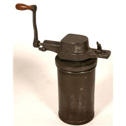 Antique Iron Grinder  #110449