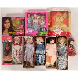 Collection of Brinn and Barbie Dolls  #109875