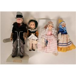 Four EFFANBEE dolls; Cinderella and Prince Charming  #109885