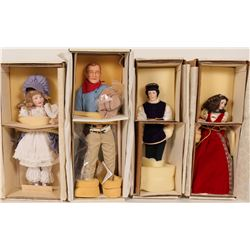 Four Franklin Heirloom Collection Dolls  #109887