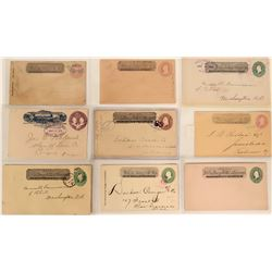 Wells Fargo California Covers (9 pieces)  #110683