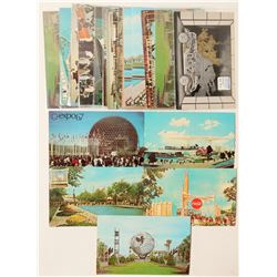 NY and Montreal Worlds Fair Postcards  #103343