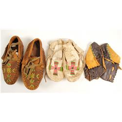 Small Moccasins, 3 Pairs  #90629