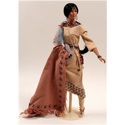 "Doll ""Dawn Seeker"" Indian Squaw  #106230"