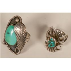 Two Navajo Rings  #109752