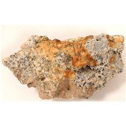 Gold Sulfide Ore from Goldfield, Nevada  #103038