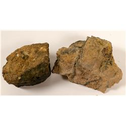 High-grade Gold Sulfide Ore, Goldfield, Nevada  #103042