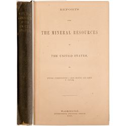 Mineral Resources of the US by Browne and Taylor  #105080