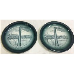 Boston & Montana Smelter Decorative Plates  #87401
