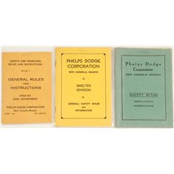 Phelps Dodge Safety Books (3 count)  #61806