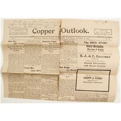 Copper Outlook Newspaper  #8460033