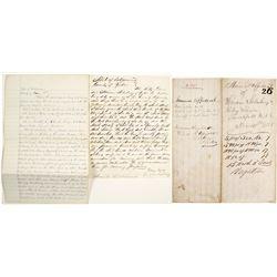 Handwritten Mineral Affidavit  #56412