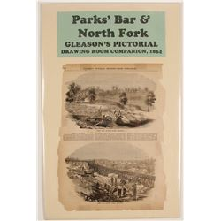 Pictorial of Parks' Bar & North Fork, American River  #72004