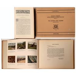 California Geology Guidebooks 1899 and 1948  #110780