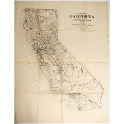 California State Copper Map  #89917