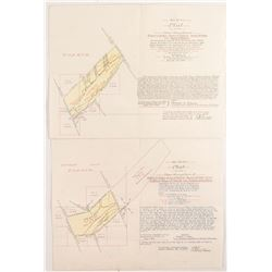Deer Lodge Placer Mining Maps/Patents  #50404